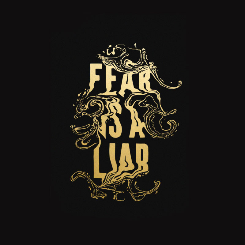 Fear is A Liar | Ginozko | Luz Art Los Angeles, CA