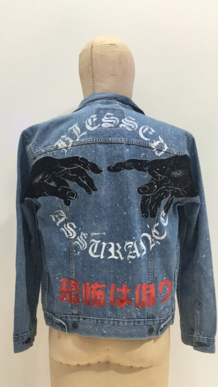 Art Denim Jacket | Ginozko | Luz Art Los Angeles, CA
