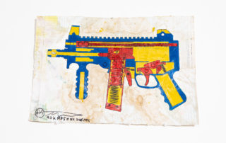 MP5KHK (Heckler & Koch MP5K), 2016 | Alfred Martinez | Luz Art Los Angeles, CA