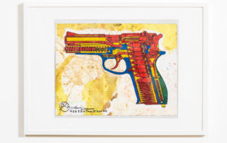 S&W 9mm 59 (Smith & Wesson), 2016 | Alfred Martinez | Luz Art Los Angeles, CA