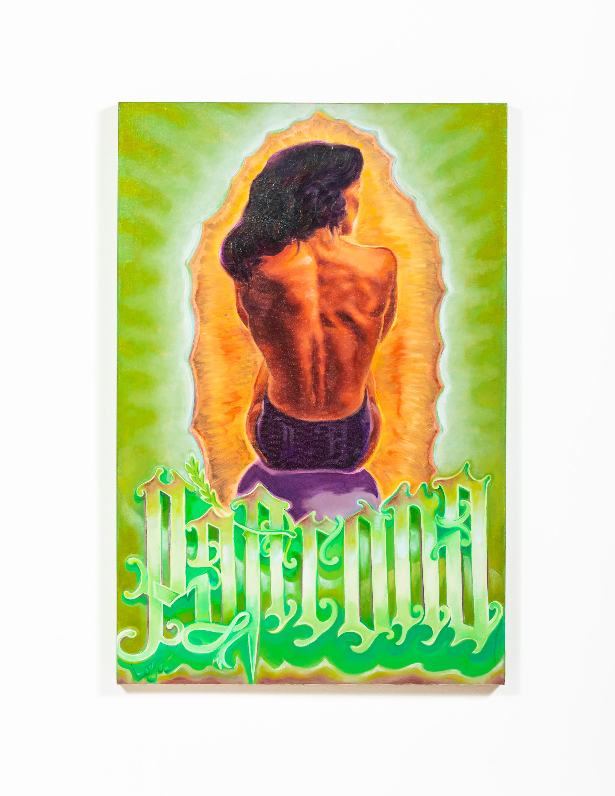 LA Patrona, 2002   Ernesto De La Loza   Luz Art Los Angeles, CA