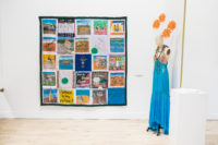 Survivor Quilt, Art Works for Freedom | Luz Art Los Angeles, CA