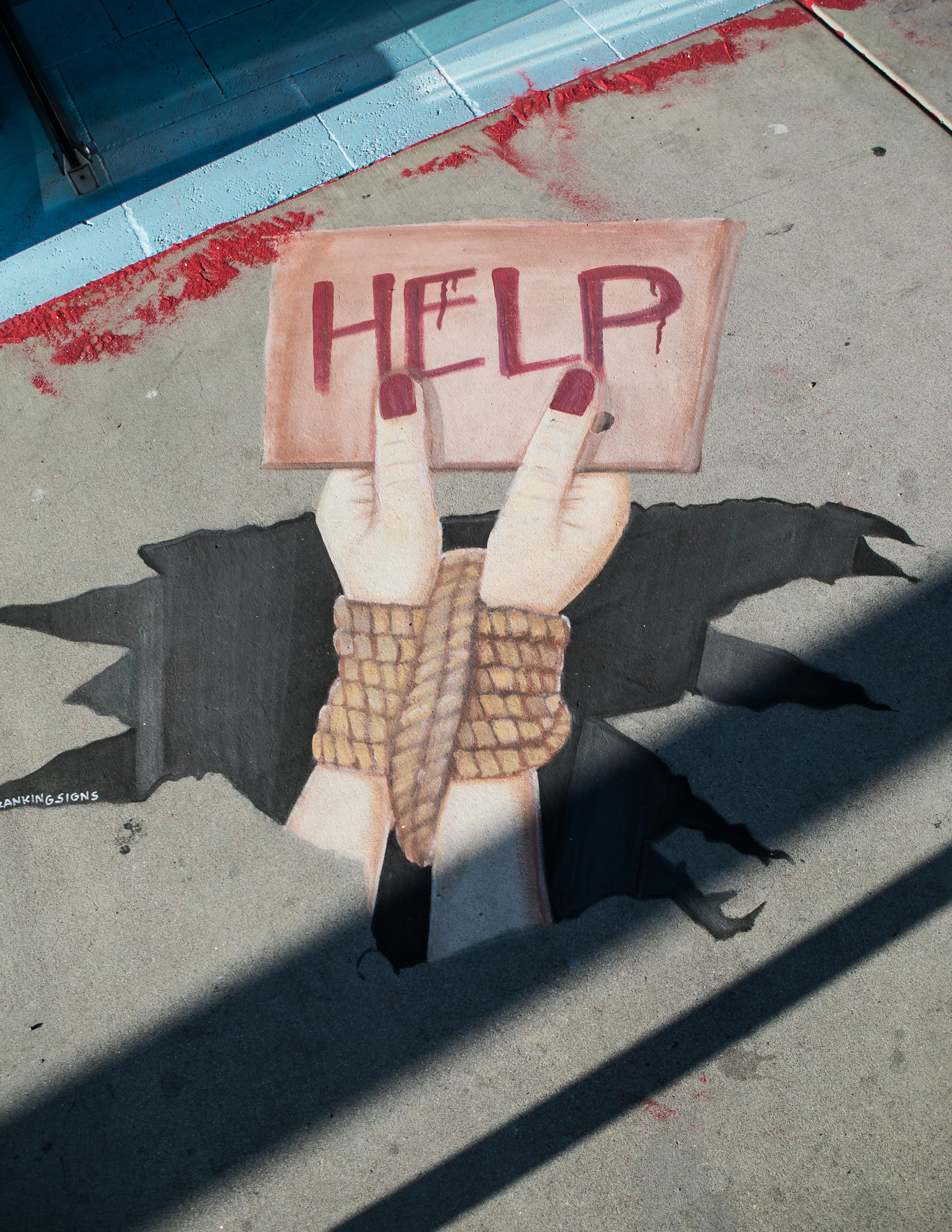 Protecting Innocence | Luz Art Los Angeles, CA