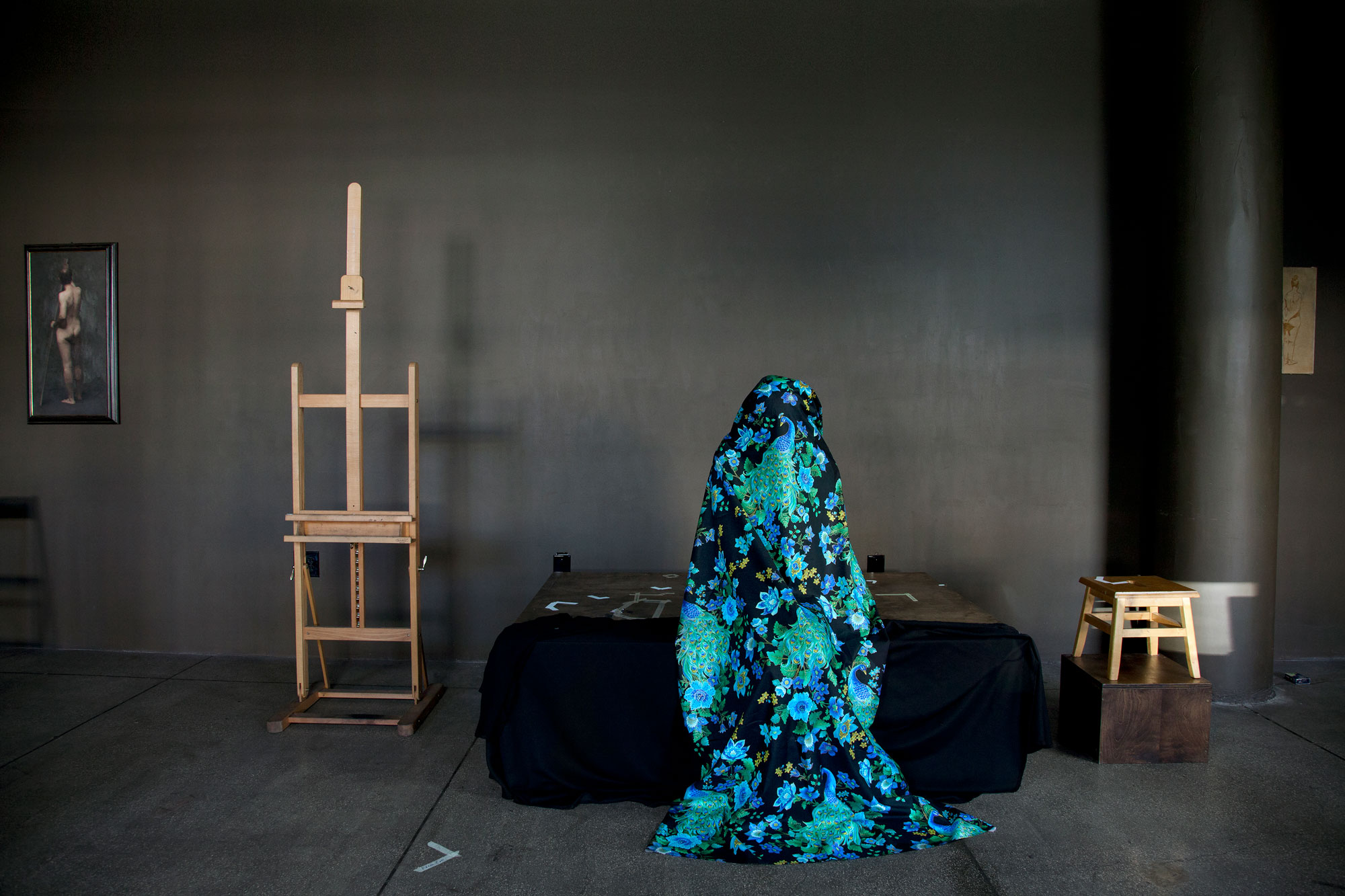 Drawing Room #4 | Lili Almog | Luz Art Los Angeles, CA