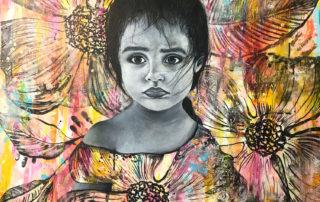 Micah Salinas | Protecting Innocence | Luz Art Los Angeles, CA
