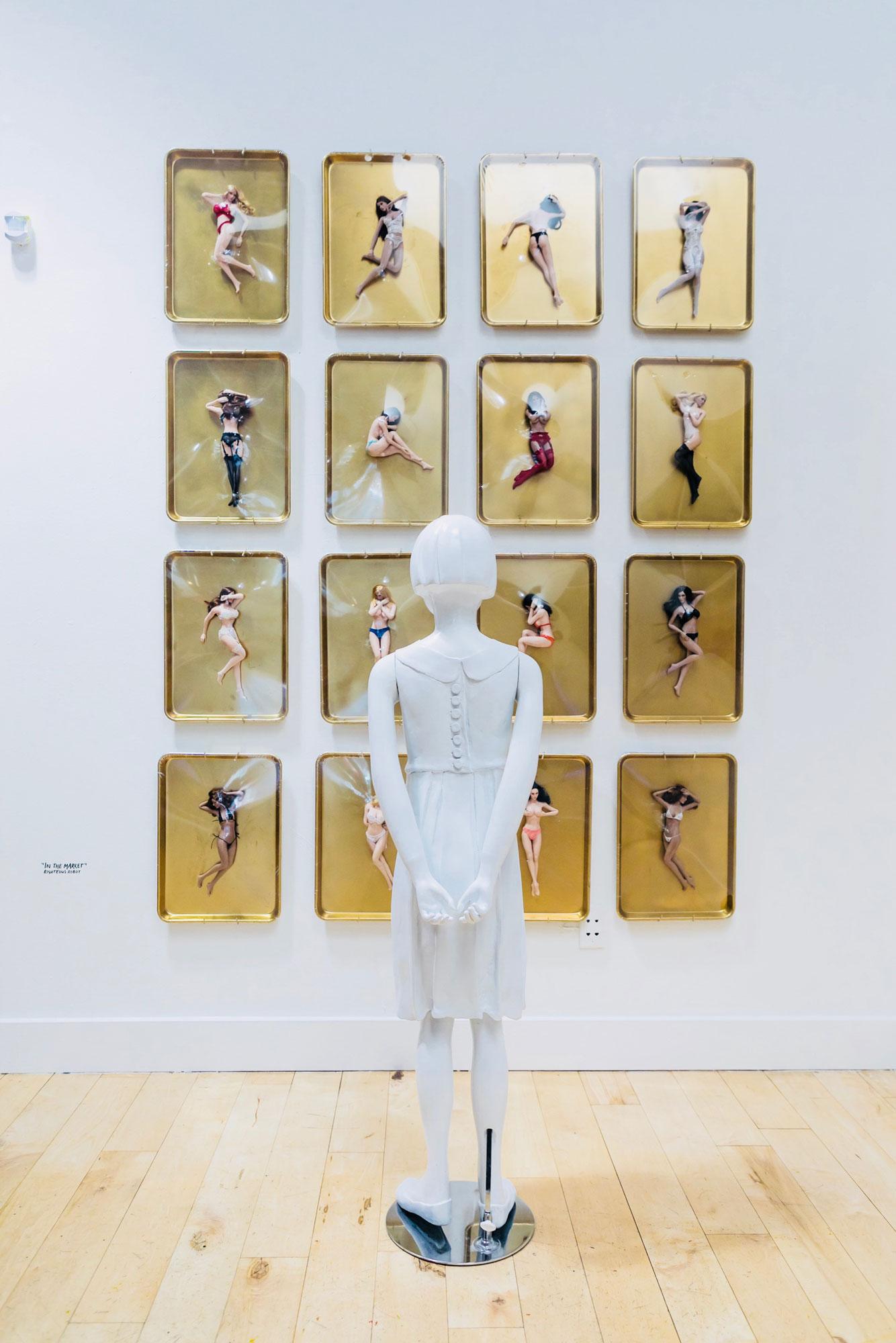 Julian Curi   Protecting Innocence   Luz Art Los Angeles, CA