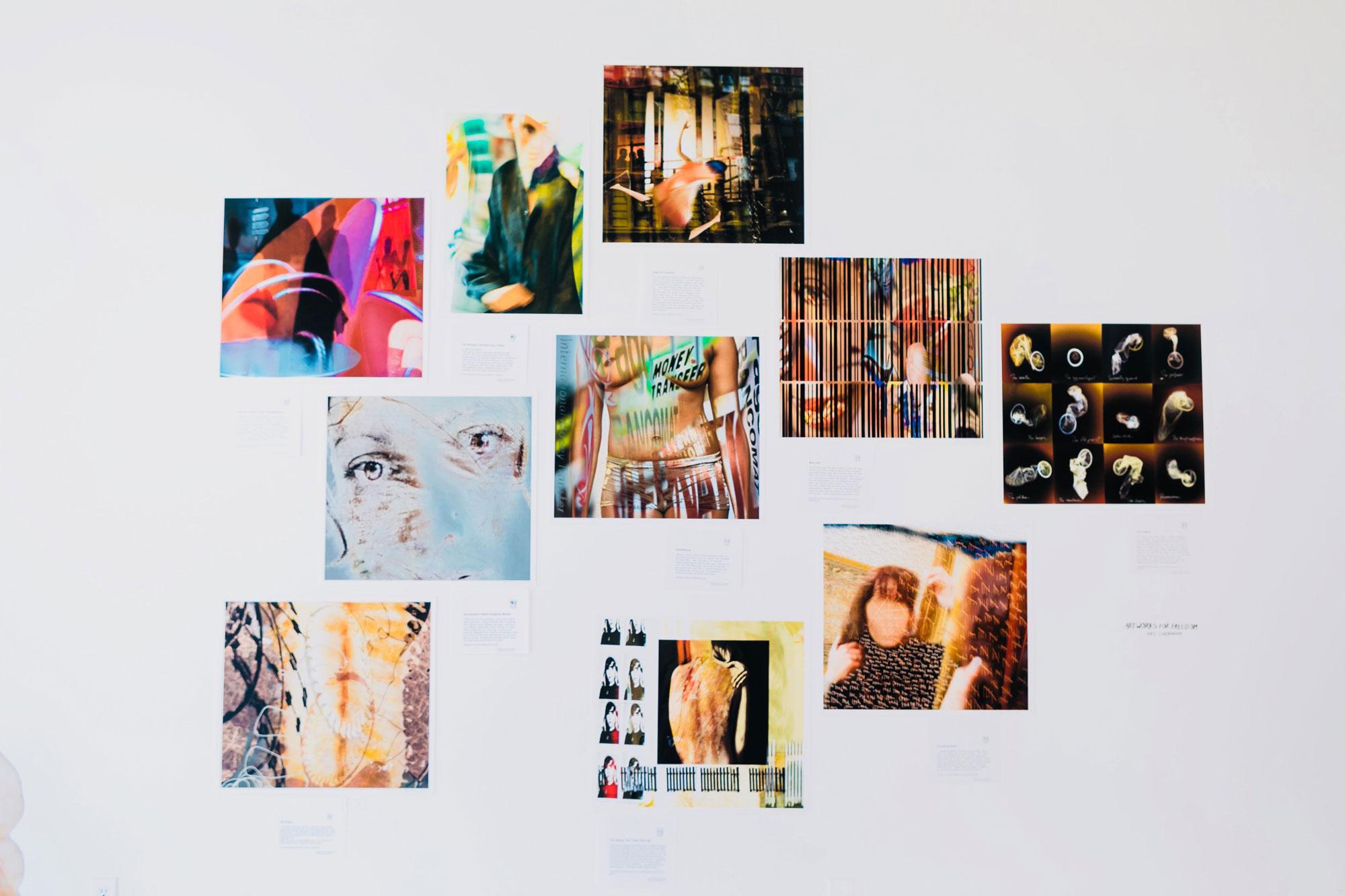 Art Works for Freedom | Kay Chernush | Protecting Innocence | Luz Art Los Angeles, CA