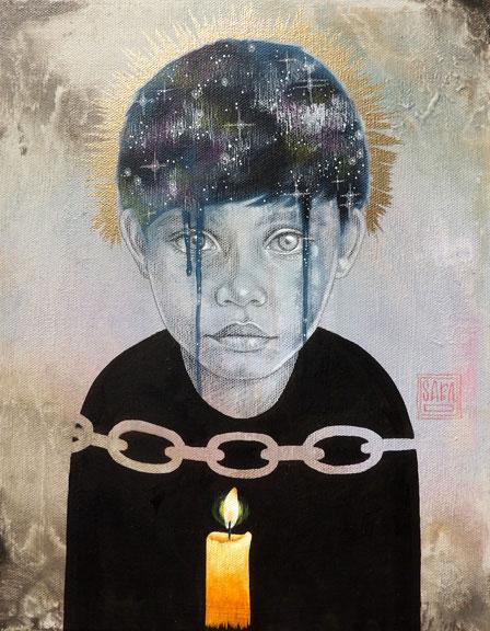 Sara Dresher | Protecting Innocence | Luz Art Los Angeles, CA