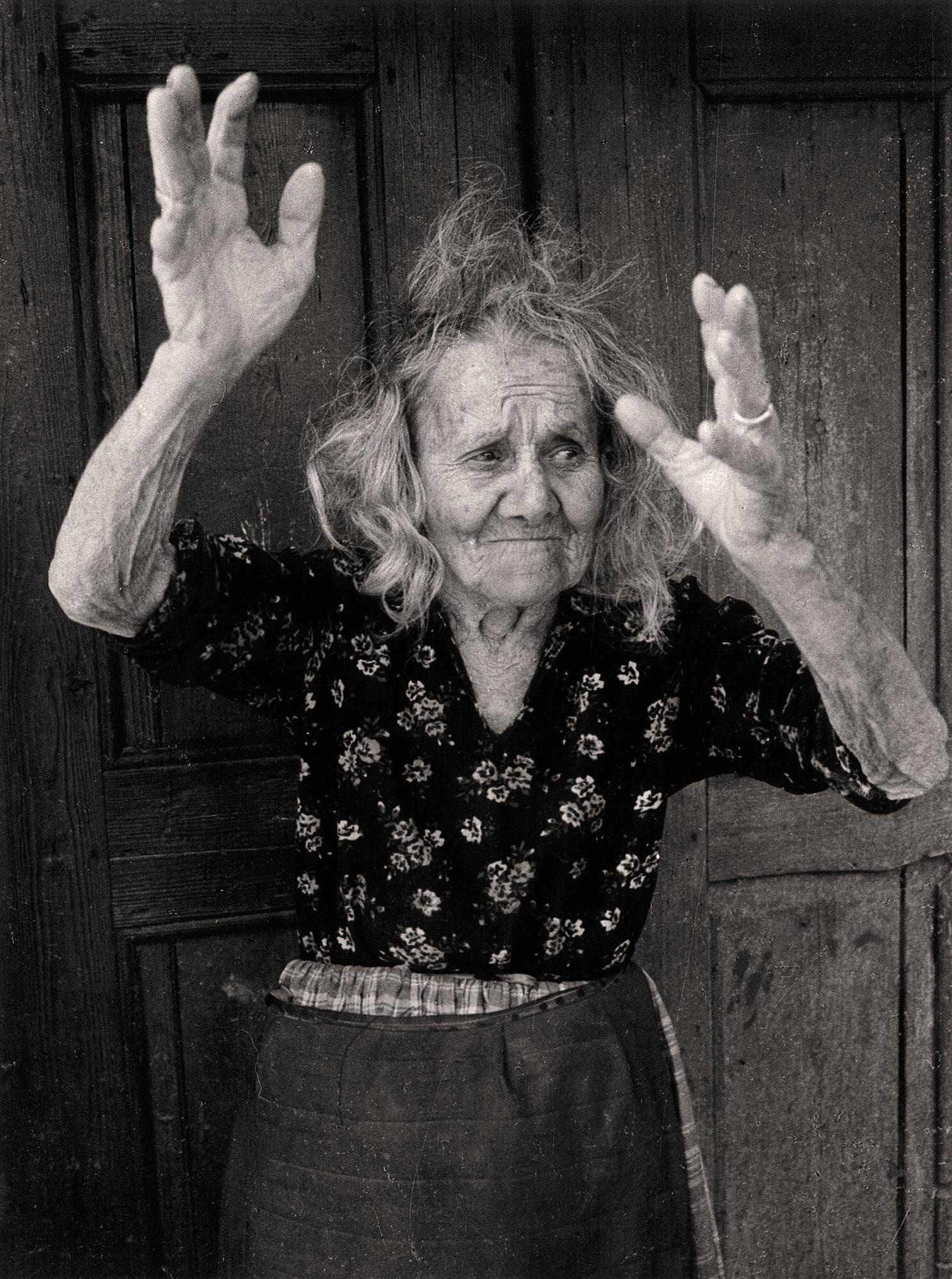 Grandmother Stoianka | Jacko Vassilev – The Joy of Freedom | Luz Art Los Angeles, CA
